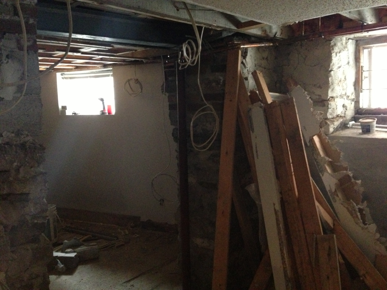 The End Of A Basement Apartment Renovation